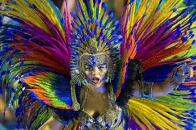 Getting dressed for Carnival