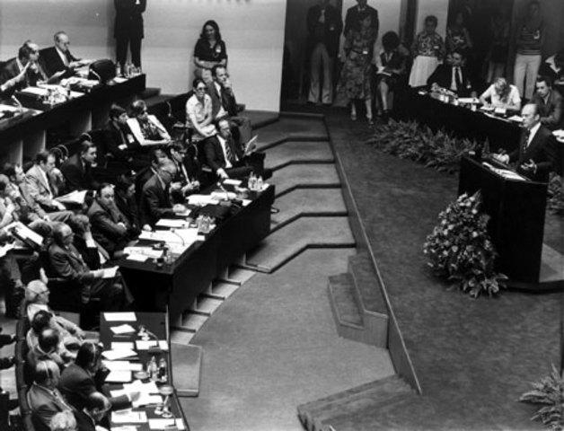 Helsinki Accords - height of detente