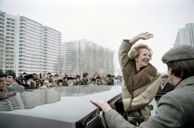Soviet Union aginvades Afghanistan; Thatcher elected prime minister in England