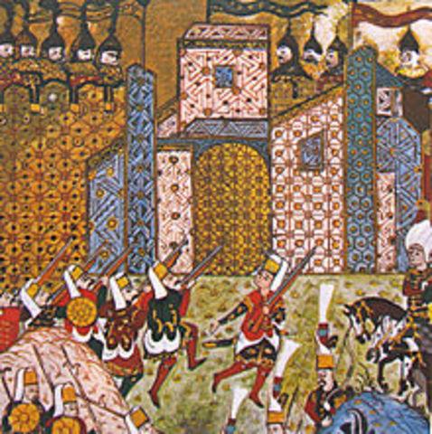 Last Crusader bastion falls