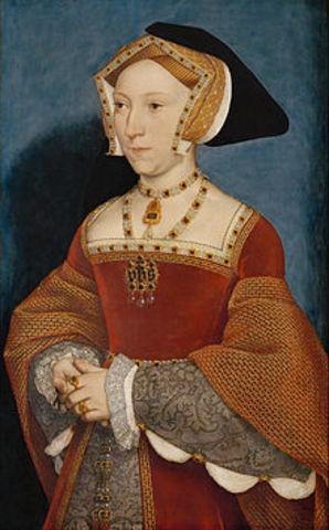 Henry VIII weds Jane Seymour