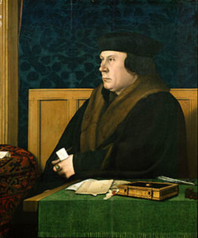 Thomas Cromwell is executed