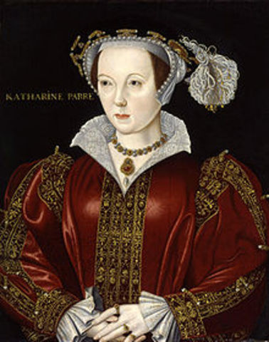 Henry VIII marries Catherine Parr
