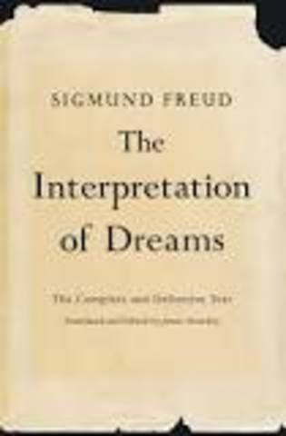 Interpretaion of Dreams by Freud published