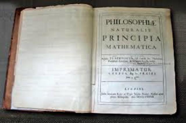 """Newton publishes """"Principia Mathematica"""""""