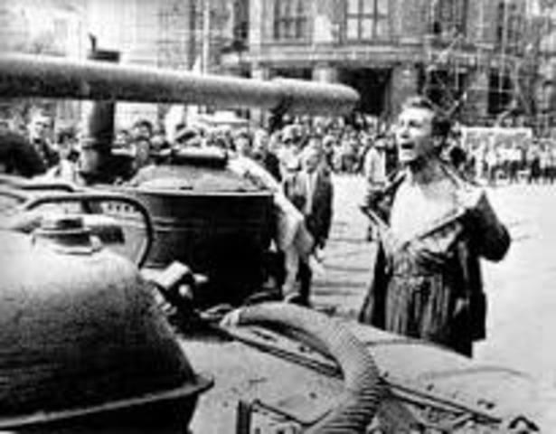 "Student Revolts;""Prague Spring"" Revolts"