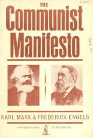 "Revolutions of 1848; Marx and Engels publish ""Communist Manifesto"""