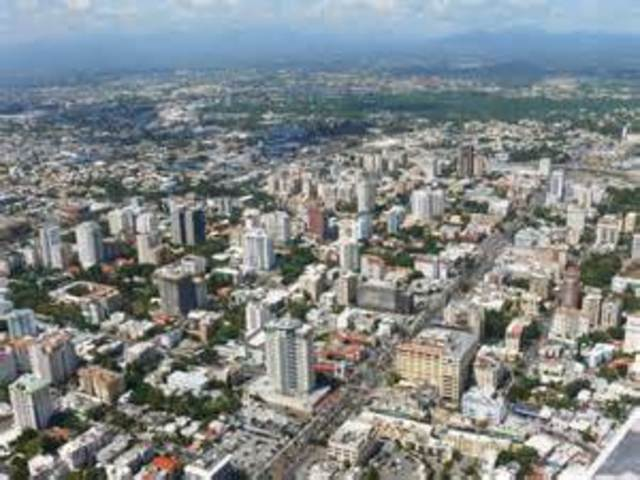 Flight to Santo Domingo, Dominican Republic