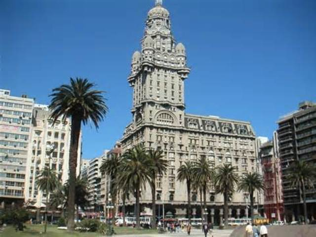 Flight to Montevideo, Uruguay
