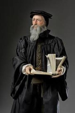 Calvin established reformed faith in Geneva
