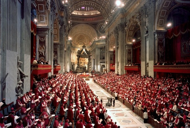 Second Vatican Council Begins