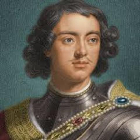 Glorious Revolution; Peter the Great's reign begins in Russia