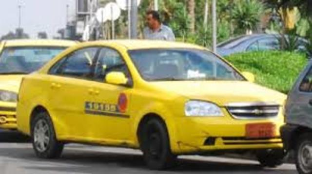 Taxi to airport