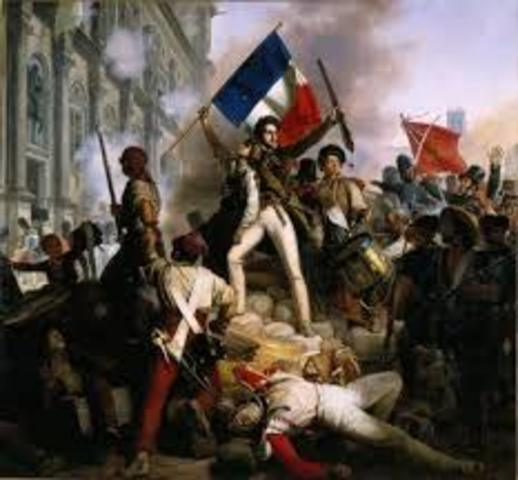 French Revolutions begins