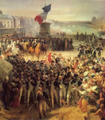 Revolution in France, Belgian and Greek independence