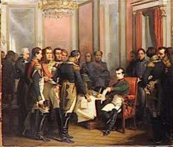 Abdication of Napoleon; Congress of Vienna