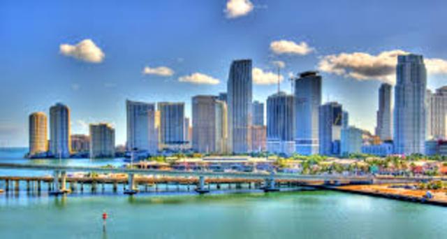 Take flight form Montreal to Miami