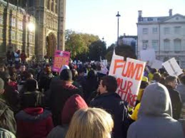 """Student revolts;Czech """"Prague Springs"""" revolt"""