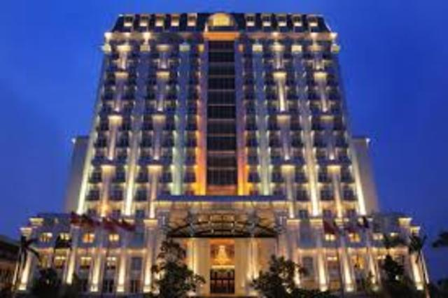 Checkin to Hotel Nikko Saigon