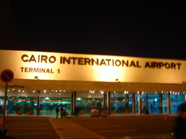 We fly out of Dubai to Egypt