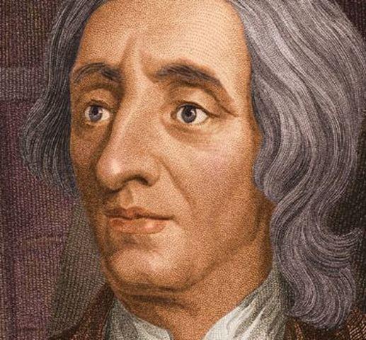 John Locke is born