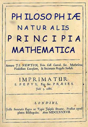"Newton published ""Principia Mathematics"""
