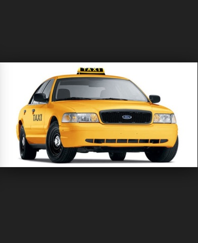 Taxi to the airport