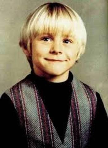 Kurt Cobain was born