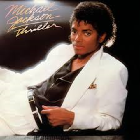 """Michael Jackson released the worlds largest selling album, """"Thriller"""""""