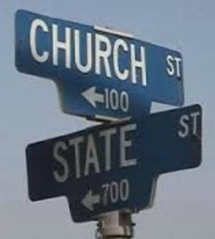 Power relations between the Church and the State: