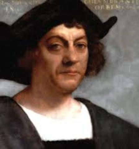 Christopher Columbus reached the Americas