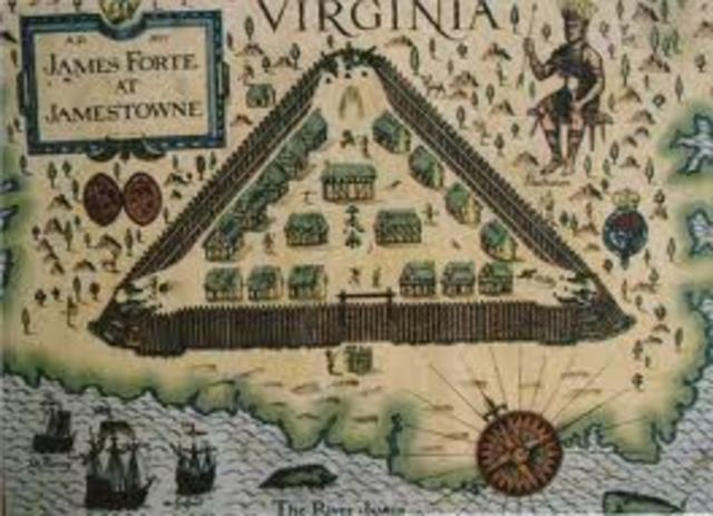 First permanent English settlement in North America (Jamestown, Virginia)