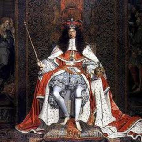 Puritan Commonwealth ends; monarchy is restored with Charles ll