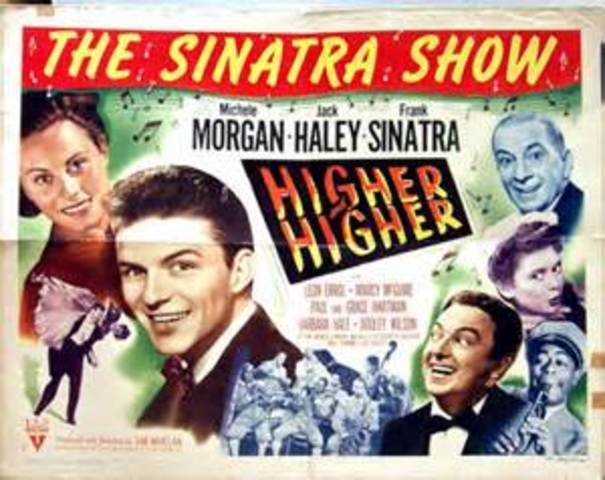 Sinatra had started his acting career.