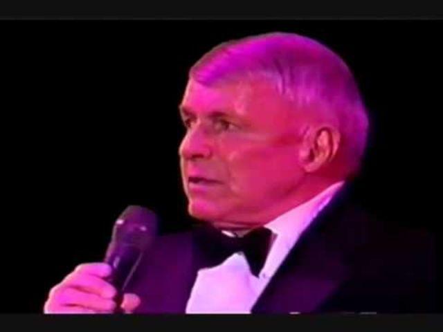 Sinatra's last concert was held.