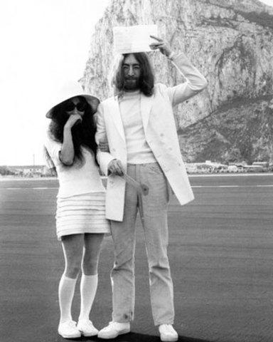 Lennon got re-married