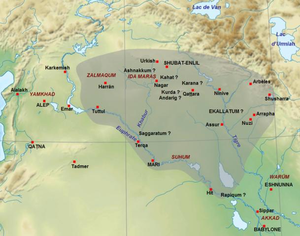 Fundación de Asiria