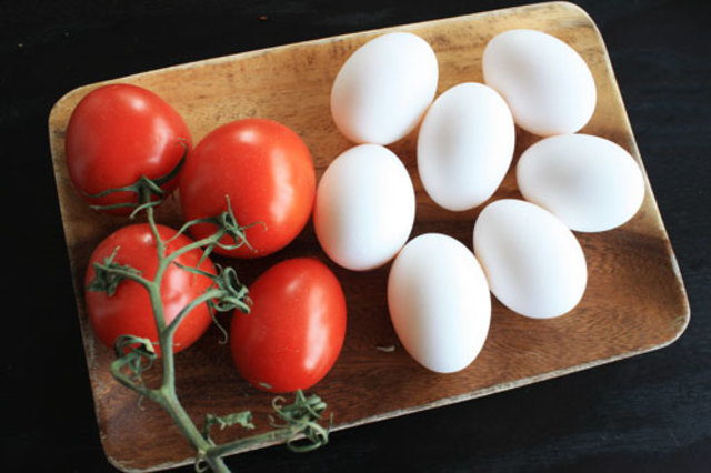 Chapter 22- Eggs and tomatoes