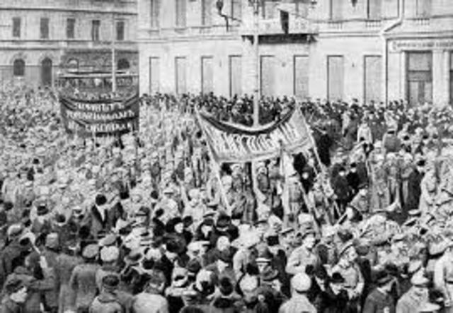 Bolshevik Revolution topples provisional government