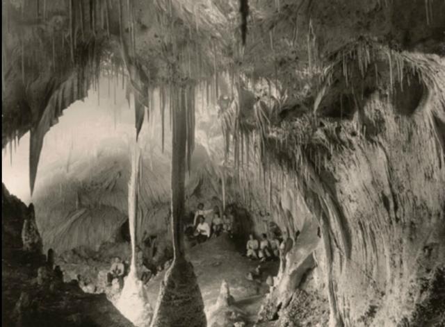 First Underground Picture
