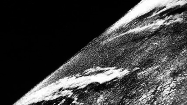 First Photo Taken From Space