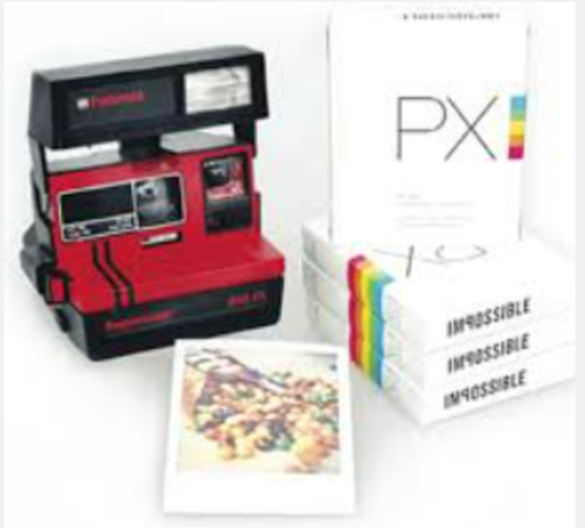 Polaroid Releases First Color Instant Film