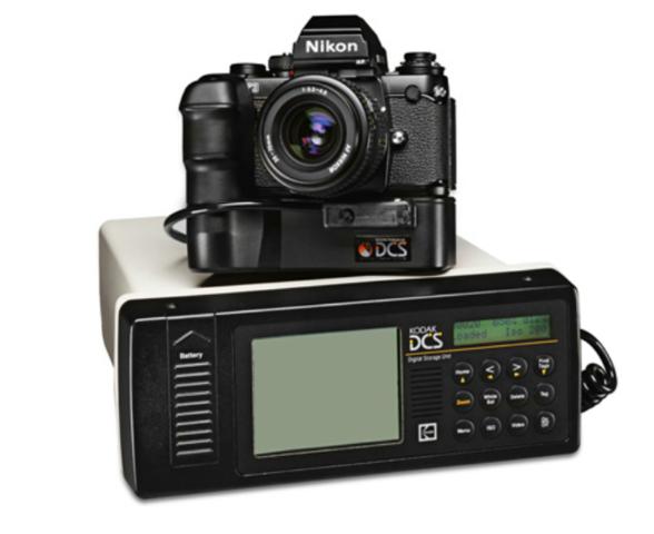First Commercial Digital Still Camera