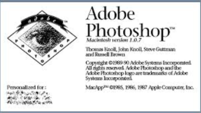 Adobe Photoshop is Released