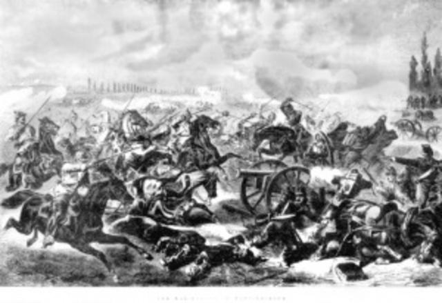 Bismarck declared war on Austria