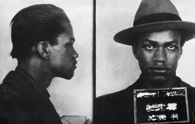 Malcolm X is arrested
