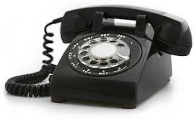 Finally a telephone