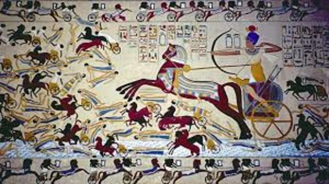 Invasión de los Hictos, fin del Imperio Medio