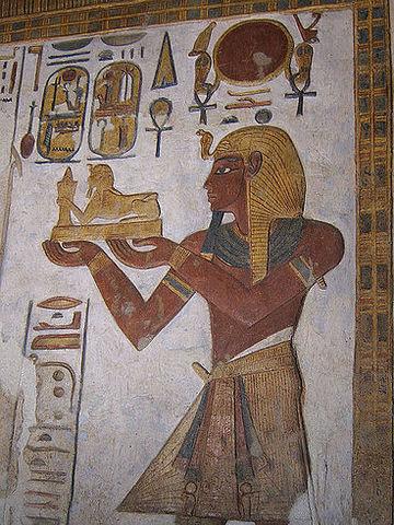 Ramsés III gobierna Egipto
