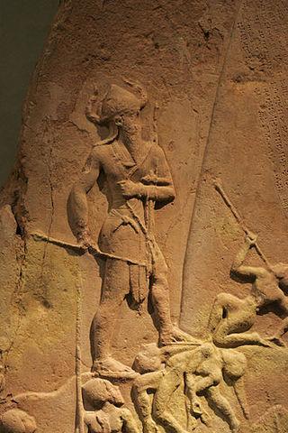 Naram-Sin, estela de la Victoria, Louvre